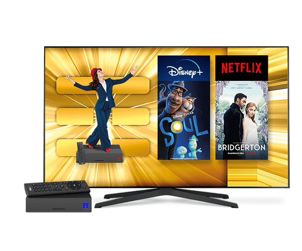 Offerta fibra per guardare in streaming sulla TV di casa Disney Plus, Netflix e TIMVISION