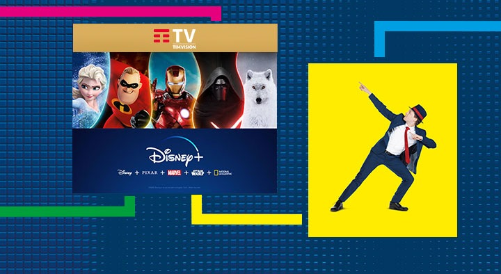 TIM TV Disney+