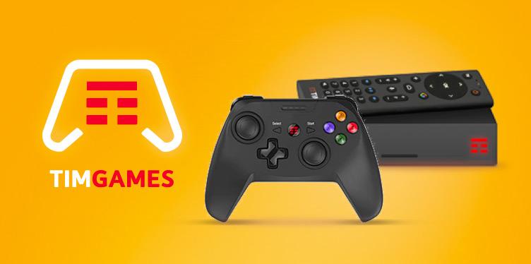 Gioca in cloud sulla Smart TV con il Gamepad TIM