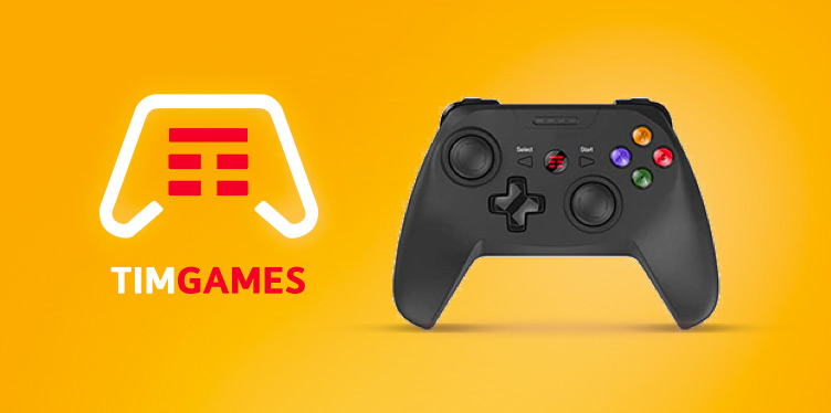 Gamepad TIM per giocare in cloud