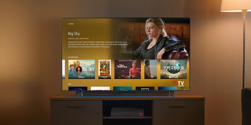 Il meglio della TV in homepage