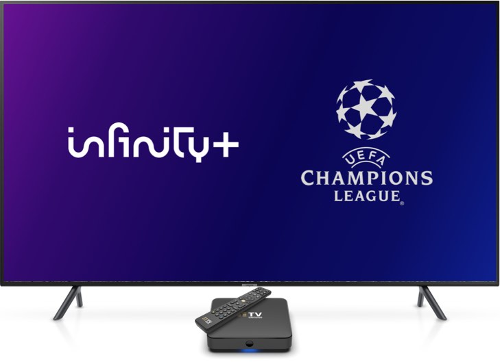 Infinity+ con la UEFA Champions League
