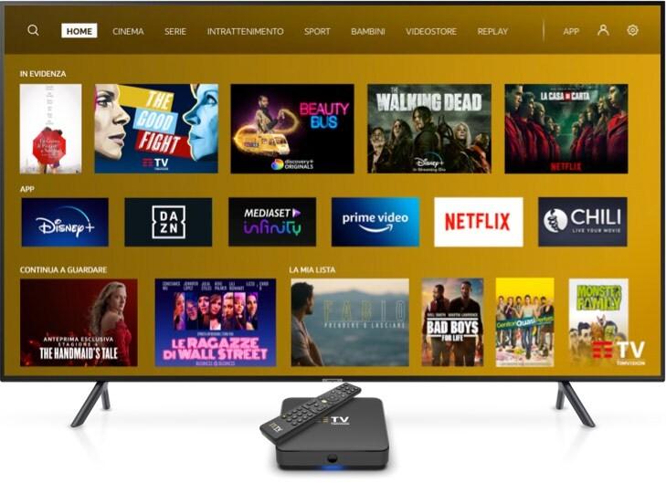 Tutta la TV che ami con TIMVISION e il TIMVISION Box è incluso!