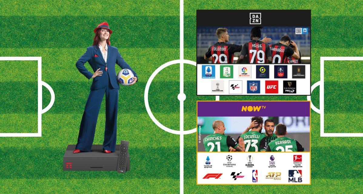 DAZN E NOW TV